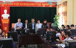 Quỹ Tấm lòng Việt trao tặng máy vi tính cho trường THCS xã Minh Tân