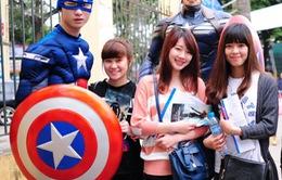 """Captain America  """"tung hoành"""" tại Việt Nam trước ngày khởi chiếu"""