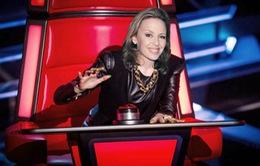 Kylie Minogue làm huấn luyện viên The Voice (Anh)