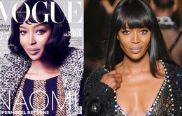 """""""Báo đen"""" Naomi Campbell bị photoshop thành Bạch Tuyết?"""