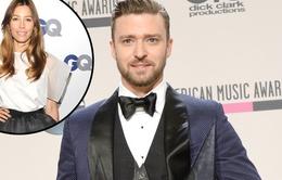Jessica Biel ở đâu trong đêm đại thắng của Justin Timberlake?