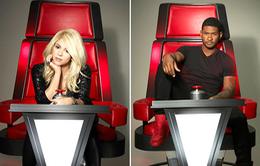 Shakira và Usher quay trở lại ghế HLV The Voice