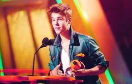 Justin Bieber bị cho ra rìa tại Kids' Choice Awards