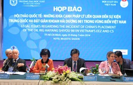 Hội thảo quốc tế về sự kiện giàn khoan Hải Dương 981