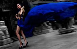 """""""Chân dài"""" đầu tiên vào ngôi nhà chung Vietnam's Next Top Model"""