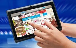 Máy tính bảng khiến người tiêu dùng mua sắm nhiều hơn