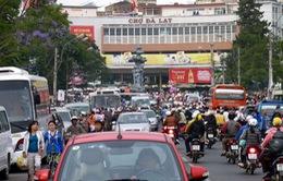 Đà Lạt: Người dân bắt đầu sợ... xe máy