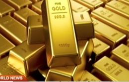 Giá vàng thế giới liên tục giảm