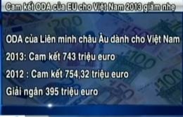 EU cam kết tài trợ 965 triệu USD cho Việt Nam