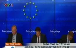 Eurozone sẽ kéo dài thời gian cứu trợ cho Hy Lạp
