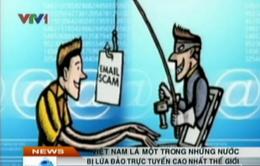 Lừa đảo trực tuyến ở Việt Nam cao nhất thế giới