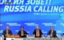Nga thay đổi hàng loạt vị trí lãnh đạo kinh tế