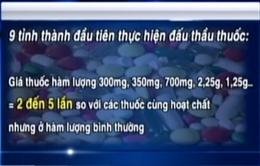 Phát hiện nhiều thuốc hàm lượng lạ giá cao bất thường