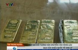 Quảng Bình: Bắt vụ vận chuyển 4 kg vàng lậu