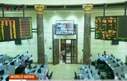 Chứng khoán Ai Cập sụt giảm mạnh bởi bạo động