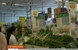 Giá rau ở Hà Nội liên tục tăng cao