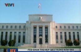 FED chưa thu hẹp QE3 trong năm nay