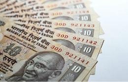 Đồng Rupee Ấn Độ giảm xuống mức kỷ lục