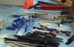 Phú Yên: Bắt một vụ vận chuyển nhiều loại vũ khí