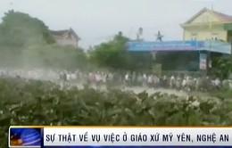 Sự thật về vụ giáo dân gây rối ở Nghệ An