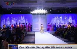 Rực rỡ lễ hội Áo dài - Hanbok tại Hà Nội