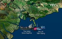 4 nạn nhân vụ chìm tàu ở Vũng Tàu đã về đến đất liền