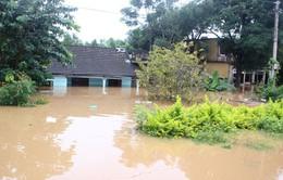 Nhiều xã ở Thanh Hóa vẫn ngập chìm trong nước