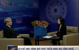 Bộ trưởng KH-CN nói về Quỹ Đổi mới công nghệ 1.000 tỷ đồng