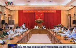 Chủ tịch nước làm việc với Thường vụ Thành ủy Hà Nội