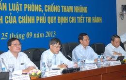 Hội nghị trực tuyến về Luật phòng chống tham nhũng