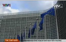 Anh kiện EU vì kế hoạch giới hạn tiền thưởng trong ngân hàng