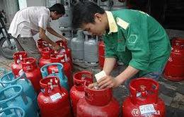 Giá gas ở TP.HCM giảm 8.000 đồng bình 12kg