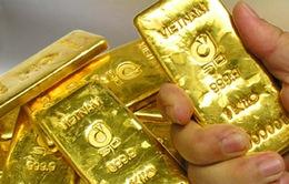 Giá vàng trong nước cách giá thế giới 4 triệu đồng/lượng