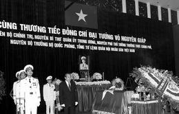Ngày mai (13/10): THTT Lễ truy điệu và Lễ an táng Đại tướng Võ Nguyên Giáp