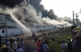 Cháy lớn tại Nhà máy Diana, Bắc Ninh