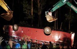 Lào Cai: Xe khách lao xuống vực, 7 người thiệt mạng