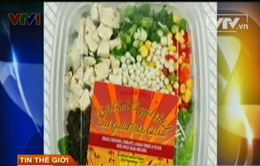 Mỹ thu hồi 90 tấn thực phẩm nấu sẵn nghi nhiễm E.coli