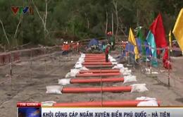 Khởi công dự án cáp ngầm xuyên biển đầu tiên tại Việt Nam