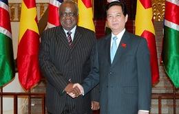 Thủ tướng Nguyễn Tấn Dũng hội kiến Tổng thống Namibia