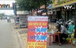 Bảo hiểm xe máy khuyến mãi, bán rẻ ven đường