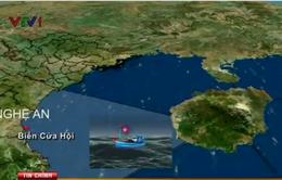 Nghệ An: Xác định nguyên nhân làm chìm tàu NA 90249 TS