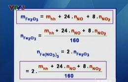 Công thức giải nhanh các bài tập hóa học
