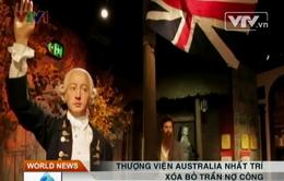 Thượng viện Australia nhất trí xóa bỏ trần nợ công