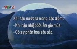 BTKT môn Địa: Đặc điểm khí hậu Việt Nam