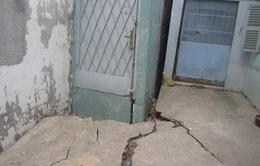 TP.HCM: Hàng loạt nhà sụt lún tại Quận 6