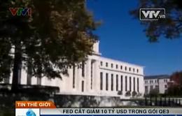 FED cắt giảm 10 tỷ USD trong gói QE3
