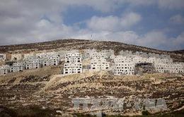 Israel xây thêm 1.400 nhà định cư tại Bờ Tây
