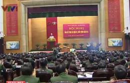 Tổng Bí thư dự Hội nghị Quân chính toàn quân năm 2013