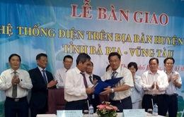 Bàn giao hệ thống điện huyện Côn Đảo