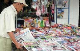 Doanh thu báo in 2013 tại Việt Nam giảm sút
